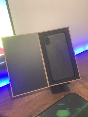 Capa iphone XS MAX fibra de carbono