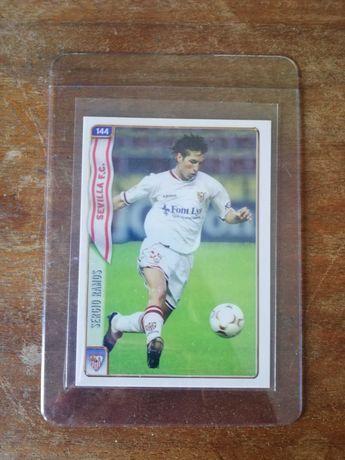 2004 Mundicromo SERGIO RAMOS ROOKIE Card #144 Sevilla