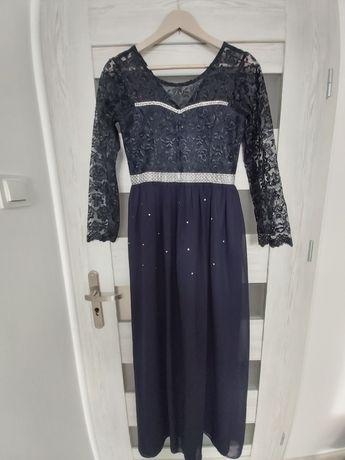 Sukienka MAXI na studniówkę