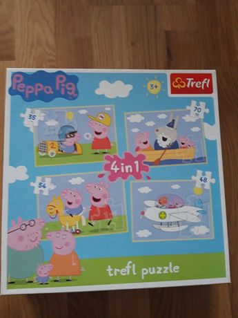 Puzzle 3+ świnka Peppa Pig