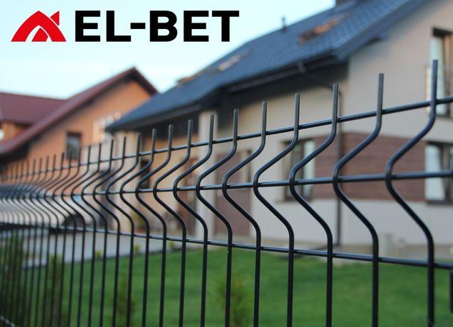 Słupki 60x40x2 mm do paneli ogrodzeniowych, słupek ocynk + RAL, panele
