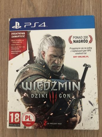 Wiedźmin 3 PS4
