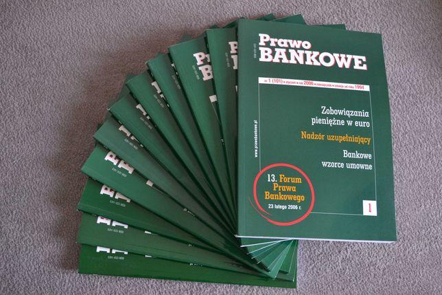 Prawo bankowe - miesięcznik - komplet wydań z roku 2006