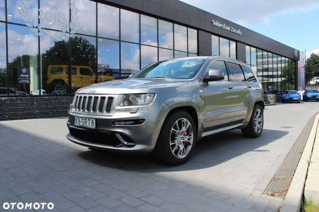 Jeep Grand Cherokee SRT8 6,4 HEMI V8 468 KM / salon / książka...