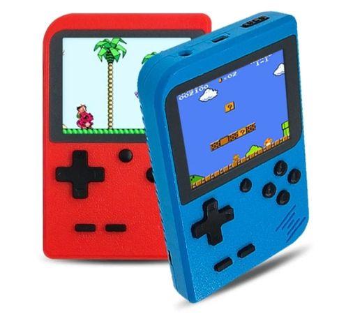 Consola para criança com 168 jogos  divertidos e bateria recarregável
