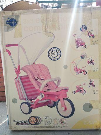 Велосипед-коляска 3-х колесный 3 в 1 Itsimagical evolution 3x3