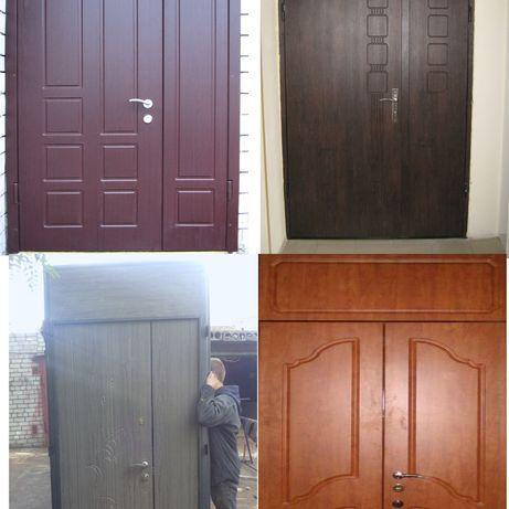 двери бронированные , металлические , входные под заказ