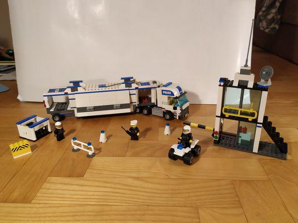Lego 7743 Ciężarówka operacyjna policji, quad, budynek+ instrukcja!