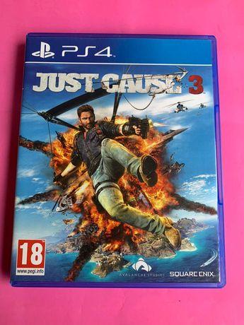 Диск игра для PS4 Just Cause 3 (идеал)