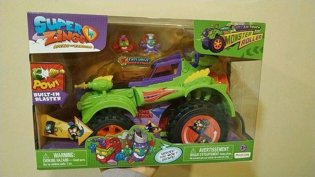 Super zings samochód auto monster roller