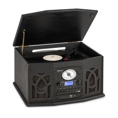 Wieża stereo gramofon DAB+ odtwarzacz CD NR-620