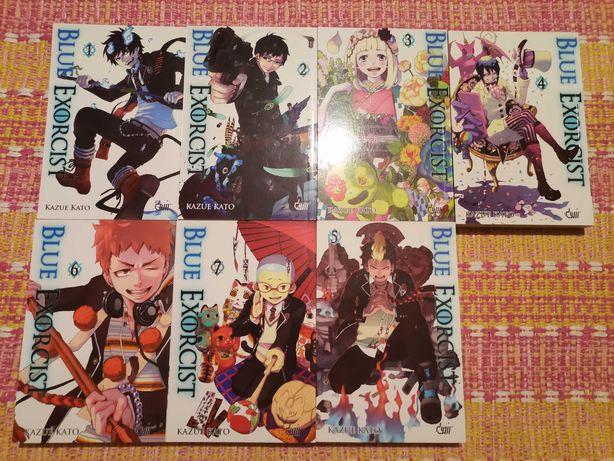 Manga Blue Exorcist