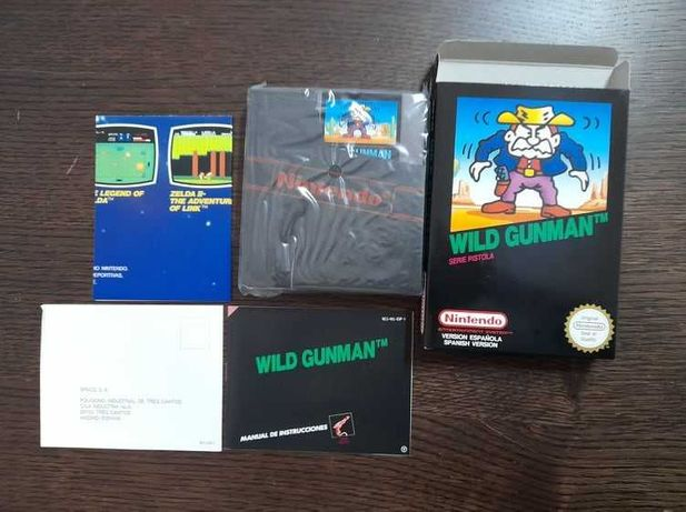 Jogo Nitendo NES Wild Gunman NOVO