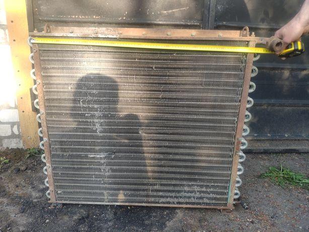 Повітряний конденсатор (радіатор) холодильної установки, 3х-рядний