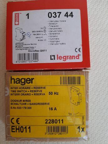 Interruptor horario da legrand/ hager