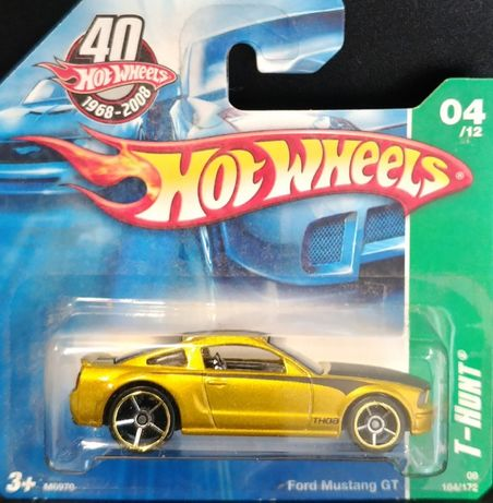 Hot Wheels - Ford Mustang GT T-Hunt