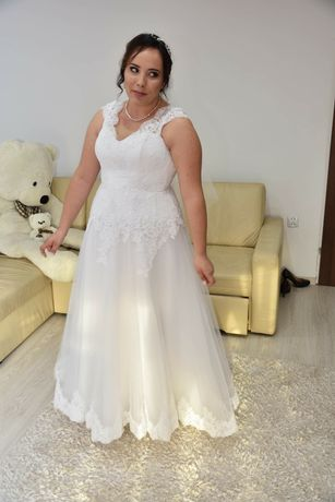 Sprzedam Piękną suknię ślubną!! Gratisy!!