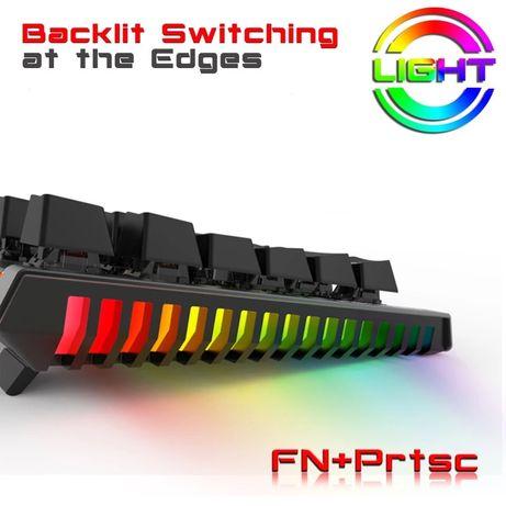 Teclado mecanico RGB novo em caixa