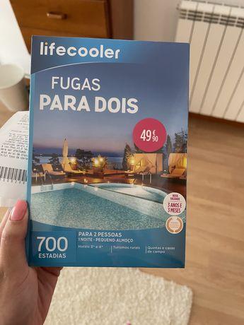 Pack Lifecooler: Fuga a Dois