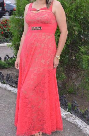 Длинное нарядное платья Вечернее выпускное сарафан