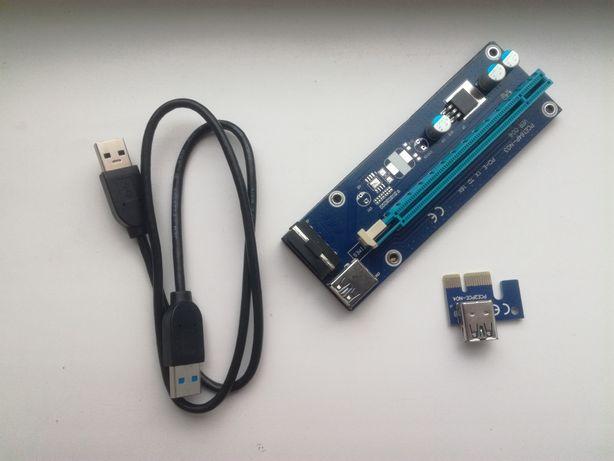 PCI-E 16X Riser плата,Райзер плата