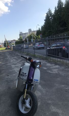 Honda giorno stunt