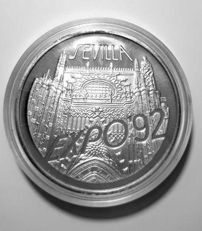200000zł Expo Sevilla 1992 srebro