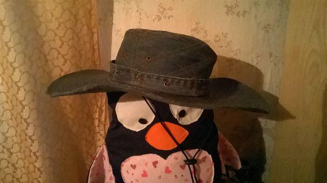 Шляпа джинсовая\ Соломенная