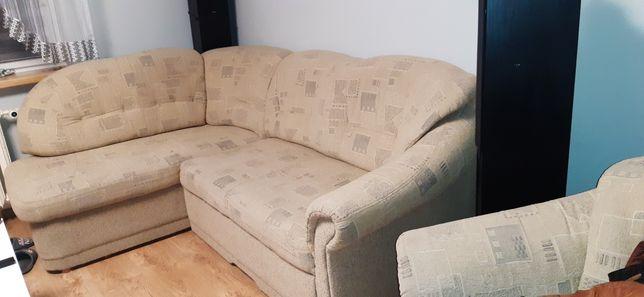 Rogówka, fotel + pufka
