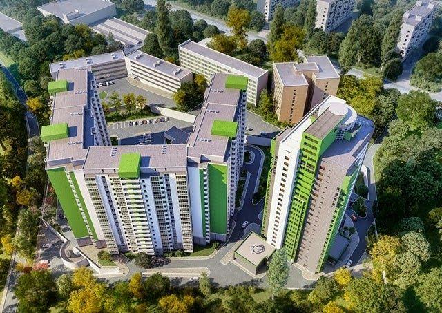 """ЖК """"Герцен Парк"""" НОВАЯ 2-х комнатная квартира 85 м.кв."""