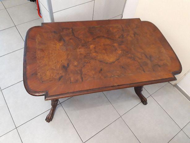 antyczna zabytkowa ława -stolik -antyk