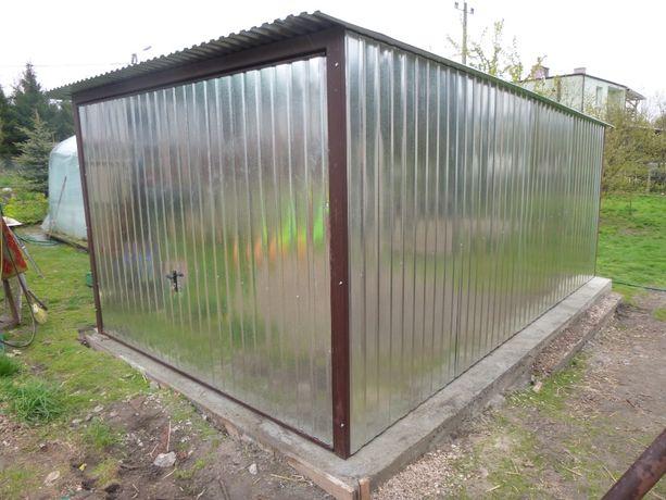 Garaż blaszany 3x5 z bramą uchylną Transport Montaż Gratis podkarpacki