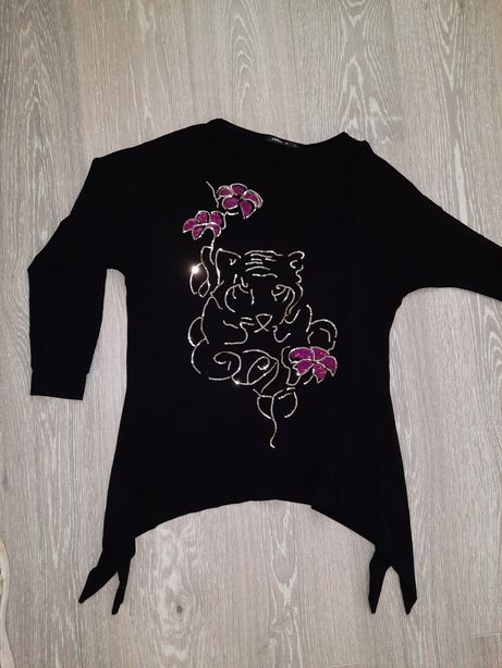 Новая Туника блуза женская пайетки