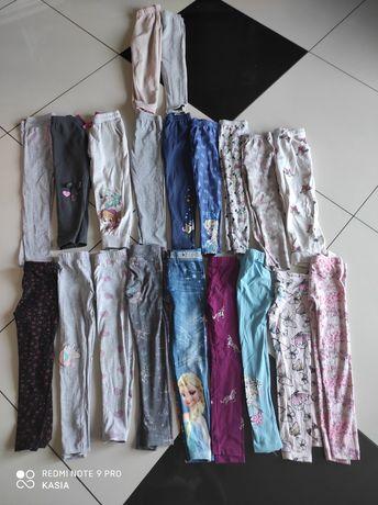 Zestaw legginsów i spodni dresowych