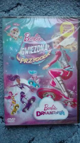 Nowe DVD Barbie gwiezdna przygoda + Barbie Dreamtopia