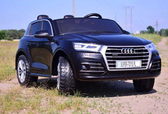 Auto Samochód na akumulator 4x4 AUDI Q5 dwuosobowe zabawki samochody