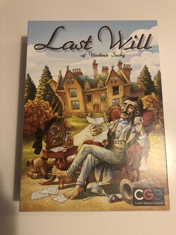 Planszowa gra ekonomiczna w języku angielskim Last Will