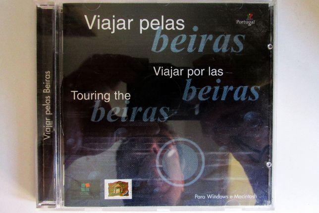 CD rom Viajar pelas Beiras, em português, inglês e espanhol, como novo