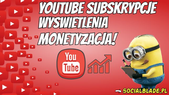 Youtube subskrypcje lajki wyświetlenia! 4000H partnerstwo monetyzacja!