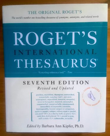 """NOWY Słownik synonimów """"Roget's International Thesaurus"""""""