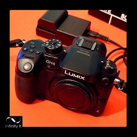 Máquina de Fotograr e Filmar - PANASONIC / LUMIX - DMC-GH4R - 4K