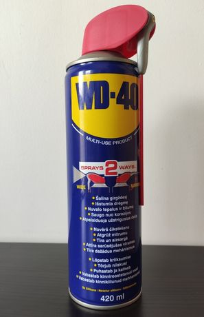 Универсальная смазка WD-40, 420 мл оригинал, 2 шт.