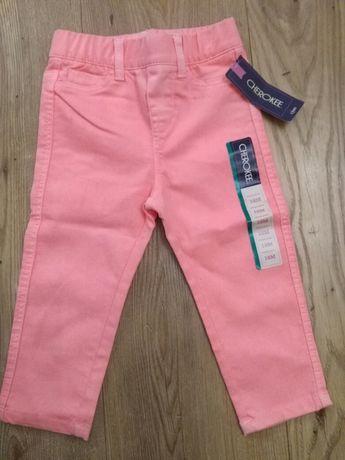 Spodnie dla dziewczynki, 80, 18 m-cy, jeansy, letnie, nowe