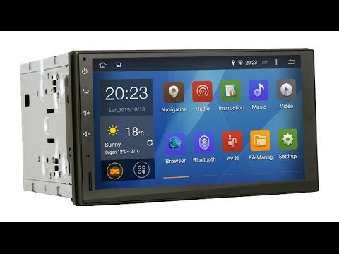 GPS Магнитола Universal A7002-Z 2DIN, Android 10.1, WIFI/BT/FM