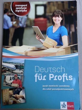 Książka j. niemiecki zawodowy technik logistyk deutsch fur profis