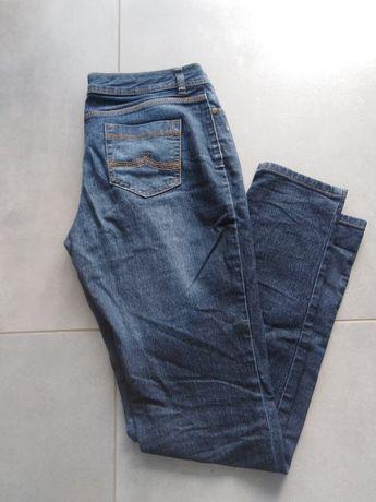 Jeansy spodnie dżinsowe F&F 38