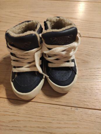 Zara buciki dla chłopca rozmiar 20
