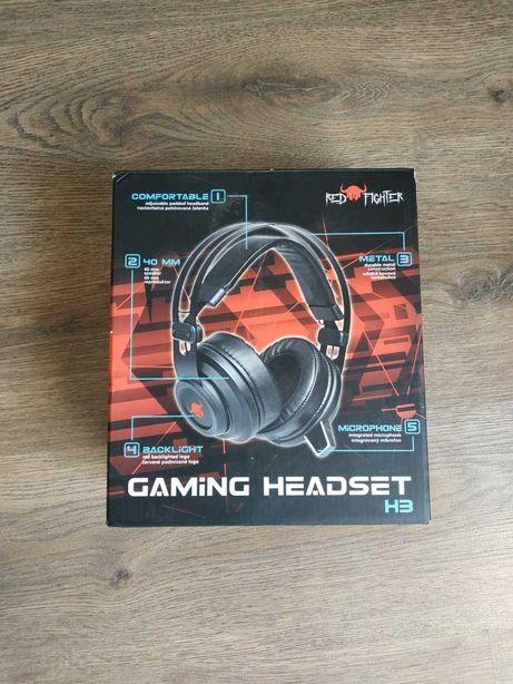 Ігрові навушники з підсвіткою REDFIGHTER H3