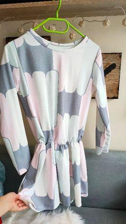 6szt ubrań xs/s paczka torba ubrań zestaw sukienka spodnie spódniczka