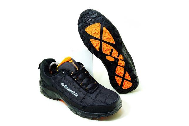 (637) ЗИМА ОСЕНЬ Кроссовки ботинки Columbia (41-46) - внутри на флисе